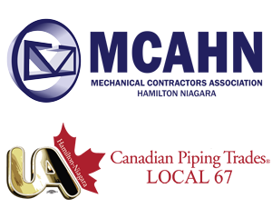 MCAHN and UA Local 67 Logos